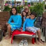 Capturar 38 - Ex de Hulk curte férias no Caribe com filhos: 'Que seja nós quatro'