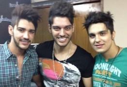 Gusttavo Lima, Luan Santana e Lucas Lucco impressionam em foto antiga