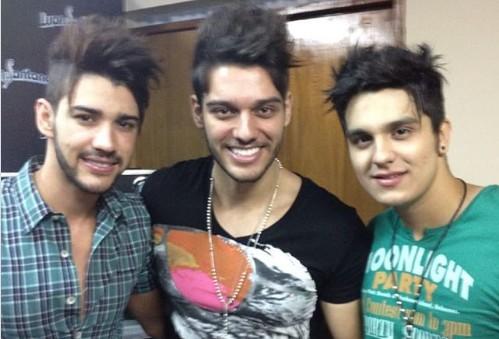 Capturar3 1 - Gusttavo Lima, Luan Santana e Lucas Lucco impressionam em foto antiga