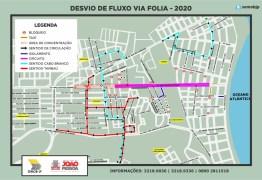 Semob divulga plano de circulação para desfiles durante o Folia de Rua em João Pessoa