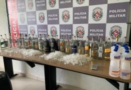 PARA O FOLIA DE RUA: PM encontra laboratório com grande quantidade de loló em João Pessoa