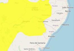 Inmet renova aviso de perigo de chuvas para 85 cidades da PB