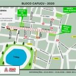 TRANSITO CAFUCU - Semob-JP modifica trânsito no Centro e reforça linhas de ônibus para o desfile do Cafuçu