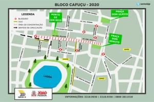 TRANSITO CAFUCU 300x200 - Semob-JP modifica trânsito no Centro e reforça linhas de ônibus para o desfile do Cafuçu