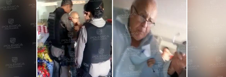 WhatsApp Image 2020 02 11 at 12.48.50 - 'DESACATO': Policiais militares prendem parlamentar de 80 anos em Patos - VEJA VÍDEO
