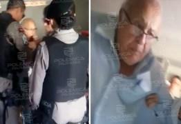 'DESACATO': Policiais militares prendem parlamentar de 80 anos em Patos – VEJA VÍDEO