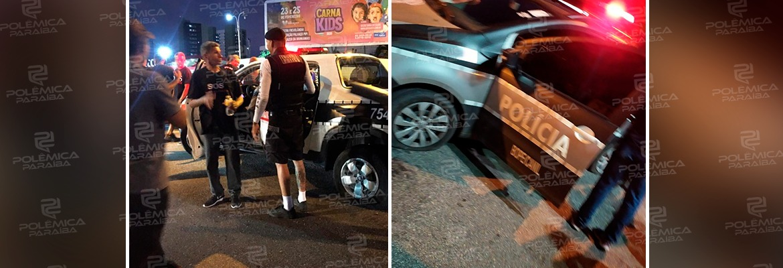 WhatsApp Image 2020 02 20 at 08.53.27 - BOICOTE INTERNO? Policiais furaram pneus de viaturas para prejudicar policiamento na Via Folia - VEJA VÍDEOS