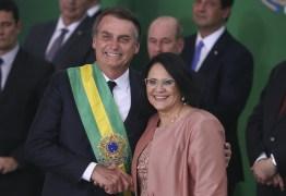 Bolsonaro aposta em popularidade de Damares no Nordeste para fazer da ministra vice presidente em 2022