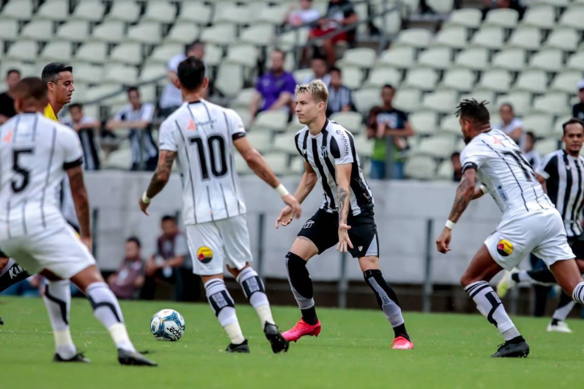 Botafogo Pb Arranca Empate Do Ceara Em Fortaleza E Assume Lideranca Do Grupo Na Copa Do Nordeste Polemica Paraiba Polemica Paraiba