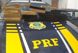 Polícia Rodoviária Federal apreende mais de 40 quilos de maconha na Paraíba