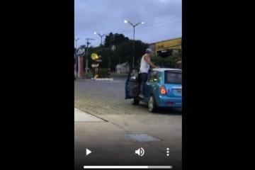 empresário - Homem surta, se passa por policial e atira em pedestres durante a madrugada - VEJA VÍDEO