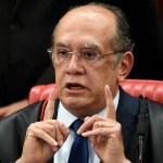 gilmar - CALVÁRIO: Gilmar Mendes anula recurso do MPF contra liberdade de Ricardo Coutinho e de outros investigados
