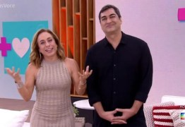 Apresentadora da Globo comete engano e fala 'ele não' ao vivo