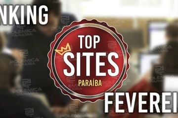 TOP SITES FEVEREIRO: Confira os sites paraibanos de jornalismo mais acessados ao longo de fevereiro