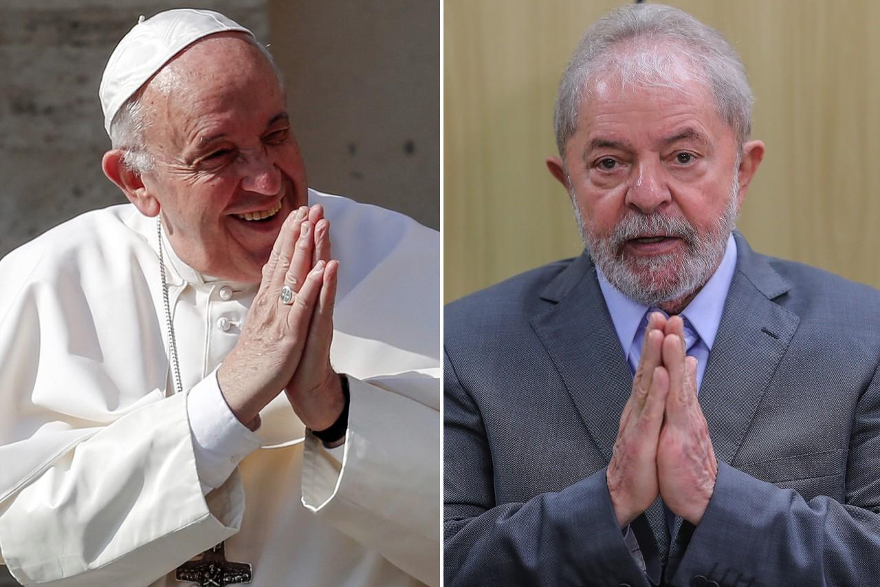 papa francisco lula - Juiz remarca depoimento para Lula se encontrar com o Papa