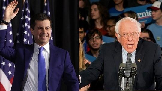 previas - Sem resultado oficial, 2 pré-candidatos democratas declaram vitória em Iowa