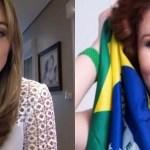 rachel e carla - Deputada acusa Sheherazade de incitar assassinato de Bolsonaro