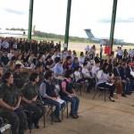 repa 2 - CORONAVIRÚS: após 15 dias, brasileiros deixam quarentena em Anápolis