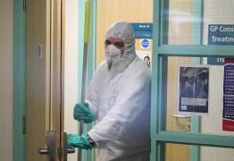 Cientistas britânicos apontam que uma a cada dez pessoas com coronavírus estão sendo contabilizadas no Brasil