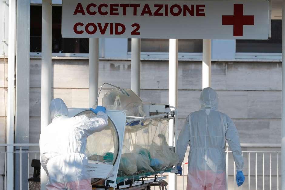 2020 03 16t172103z1927666348rc25lf94vvqnrtrmadp3health coronavirus italy - COVID-19: Itália contabiliza mais de 6 mil mortes e mais de 50 mil casos ativos da doença