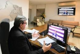 João Azevêdo defende liberação de recursos e equipamentos para a Saúde em reunião do Fórum Nacional de Governadores – OUÇA