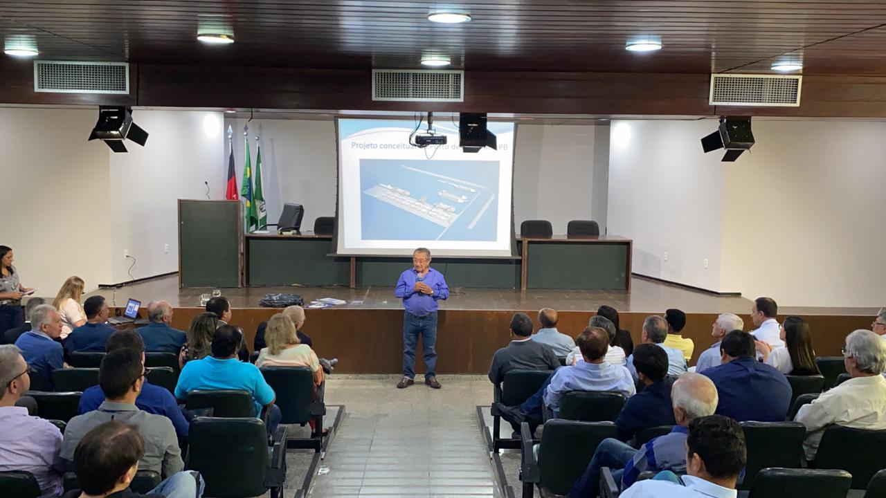8b88796c 3b92 454d bf84 0dc387670047 - Implantação do Porto da Paraíba e de Complexo Industrial no Litoral Norte será discutido no Ministério da Infraestrutura
