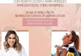Manaira Shopping realiza evento com Renata Uchôa e Nara Marques para comemorar Dia Internacional da Mulher