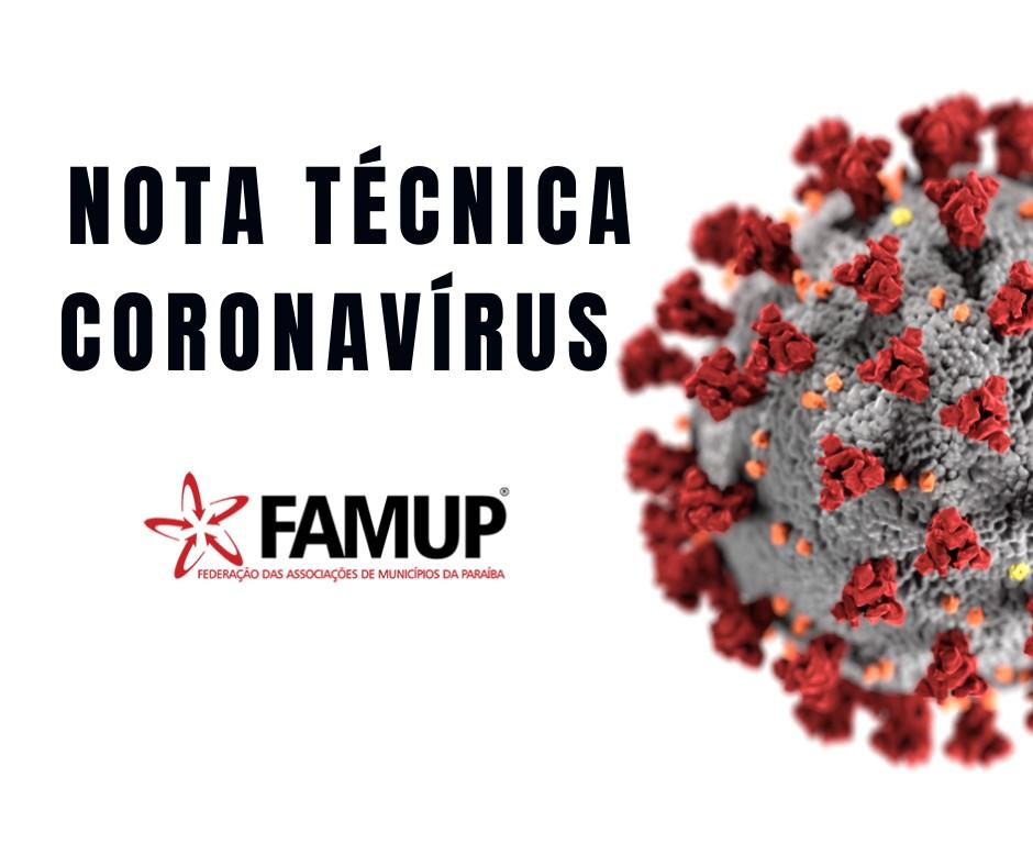 9ccec8b2 5ef1 4b1c abee bd5d8e5e97de - Famup emite nota técnica e recomenda que prefeituras criem Comitê de Gestão de Crise do coronavírus