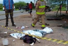 TRAGÉDIA: grave acidente na BR 230 em Sousa deixa uma mulher morta e mais dois homens feridos