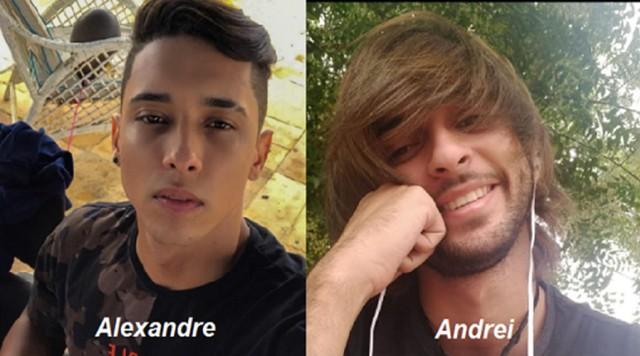 Alexandre e Andrei - Acidente com ônibus no Sertão mata dois estudantes universitários