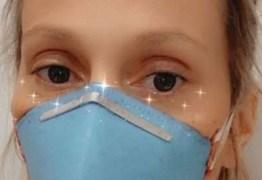 Luisa Mell diz que ela e o marido estão com pneumonia