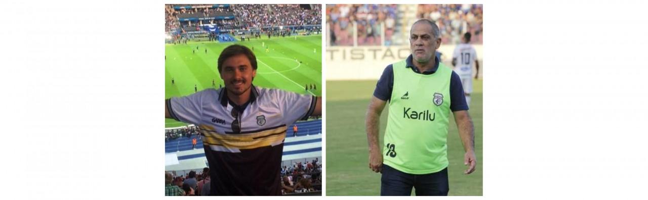 BeFunky collage - Vazam áudios de discussão entre treinador e diretor de futebol do Treze - OUÇA