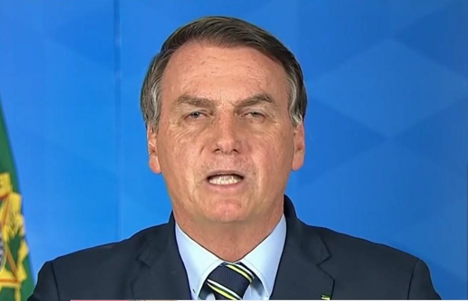 Capturar 63 - Em pronunciamento desastroso Bolsonaro fala em gripezinha, pede para pessoas voltarem ao trabalho e ataca Drauzio Varella - VEJA VÍDEO