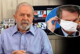 Bolsonaro chegou ao limite e não está preparado para tocar o país, diz Lula; VEJA VÍDEO