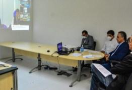 VIDEOCONFERÊNCIA COM BOLSONARO E MANDETTA: Cartaxo pede EPIs e respiradores para abertura de novos leitos em JP