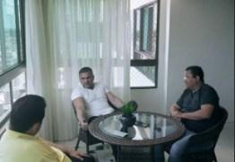 MDB E PSL UNIDOS: Nilvan Ferreira toma café na casa de Juliam Lemos para discutir cenário político
