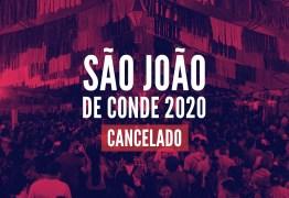 Prefeitura de Conde cancela os festejos juninos 2020