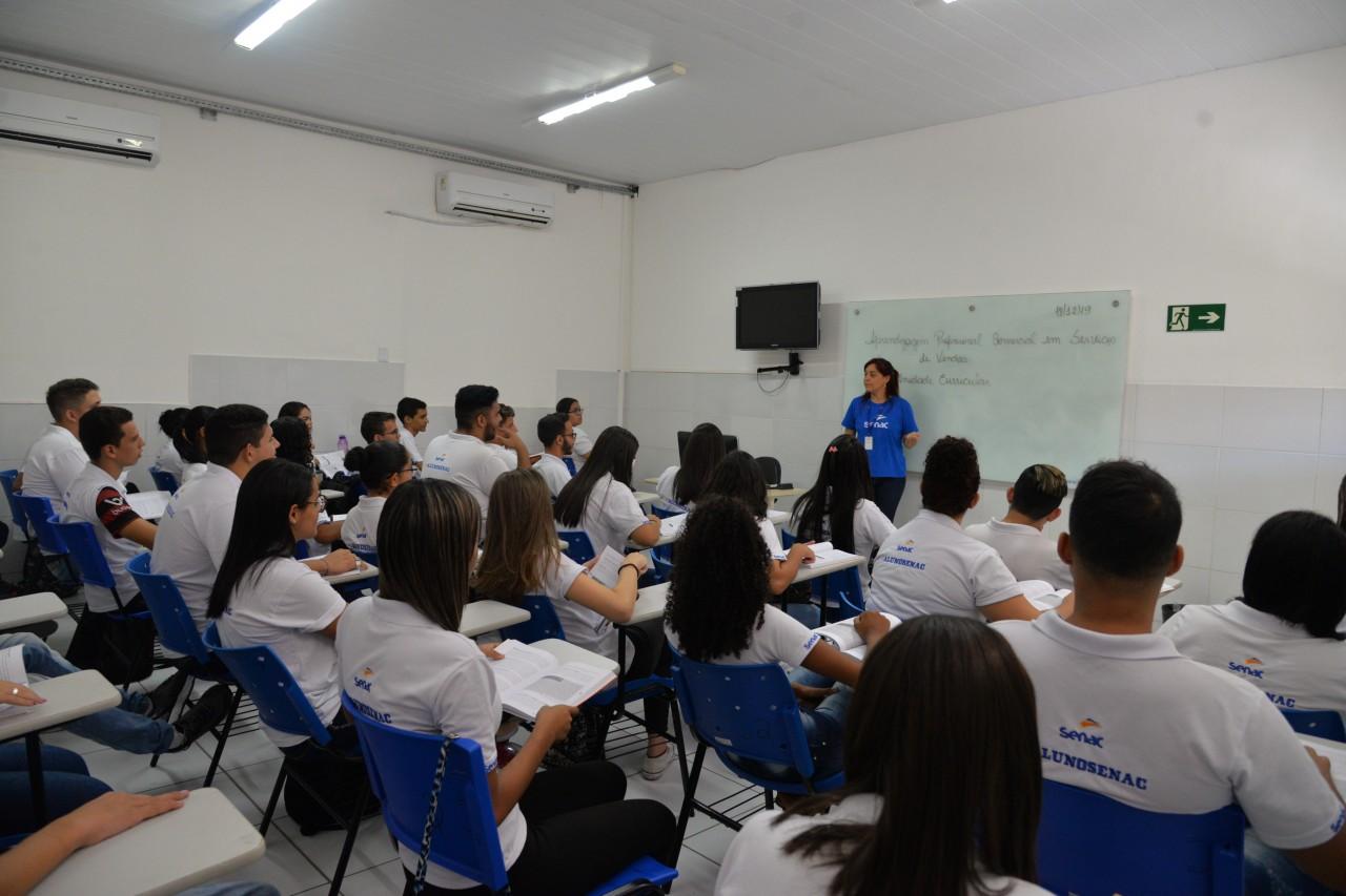 Senac - Senac abre mais de 2800 vagas para cursos entre março e abril na Paraíba