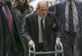 Harvey Weinstein é diagnosticado com coronavírus em prisão