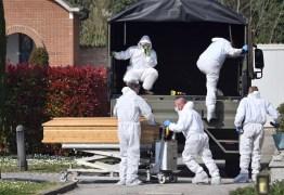 PANDEMIA: Itália registra 793 mortes em 1 dia, e total sobe para 4.825