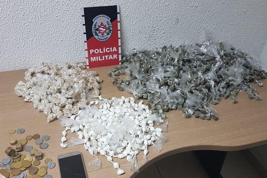 apreensao santa rita - Polícia Militar apreende mais de três mil papelotes de entorpecentes na Paraíba