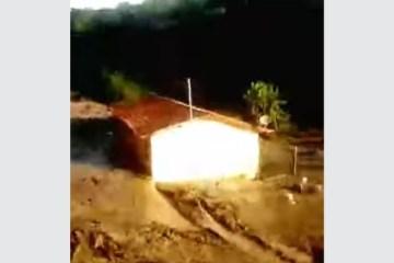 barragem - VEJA VÍDEO: Barragem rompe e provoca destruição no interior de Minas Gerais