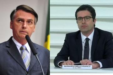 bolsonaro bernardo - Jornalista viraliza após nomear Bolsonaro de Capitão Corona