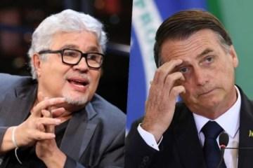 bolsonaro noblat - Bolsonaro se desentende com Ricardo Noblat após mensagem sobre Adélio Bispo