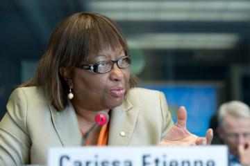 carissa etienne - Diretora da OMS afirma que pandemia de Coronavírus nas Américas vai piorar