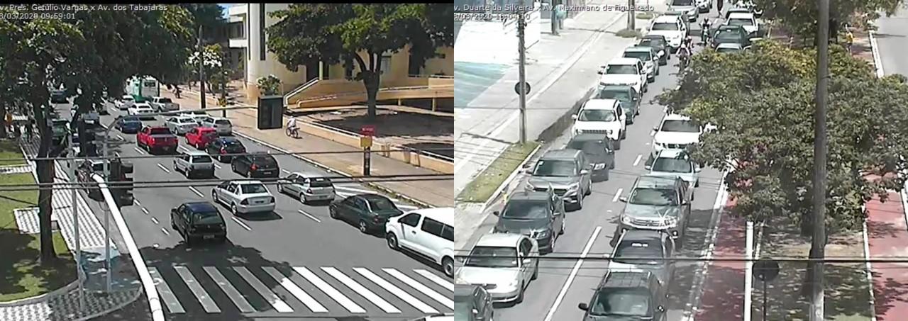 PELO FIM DO ISOLAMENTO: Carreata organizada por apoiadores do presidente pede o fim da quarentena em João Pessoa – VEJA IMAGENS