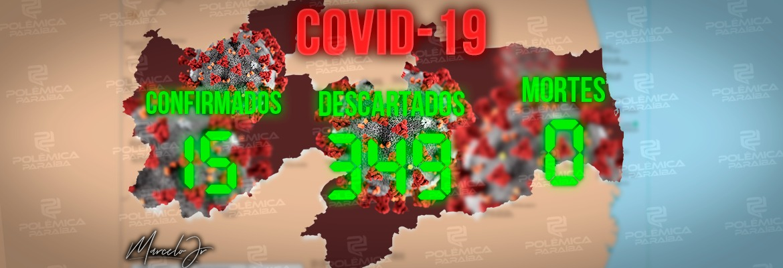 d5f32ad1 9eaa 4acd b632 1e2faa8f2981 - BOLETIM DA SES: Paraíba tem 15 casos confirmados do novo coronavírus