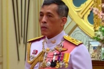 HARÉM: Rei da Tailândia está de quarentena com vinte mulheres