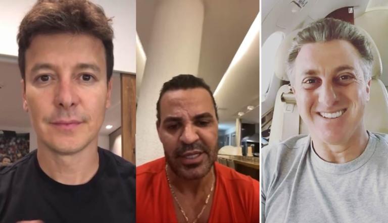 PANDEMIA: Cantor Eduardo Costa diz que Huck e Faro são hipócritas; VEJA VÍDEO