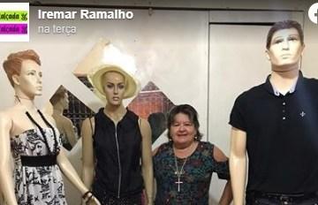 festa de aniversário - ANIVERSÁRIO NA QUARENTENA: Mulher usa manequins como convidados em festa de aniversário em Guarabira
